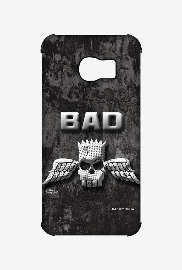 Simpsons Cracked Wall Bart Case for Samsung S6 Edge