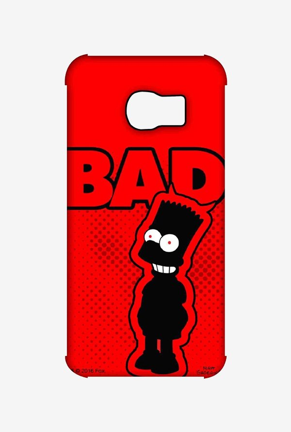 Simpsons Bad Case for Samsung S6 Edge