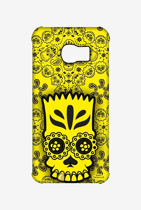 Simpsons Celtic Bart Case for Samsung S6 Edge