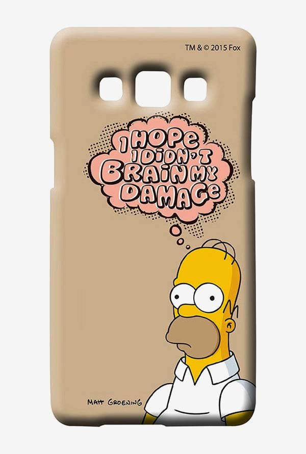 Simpsons Brain Humour Case for Samsung Galaxy A7