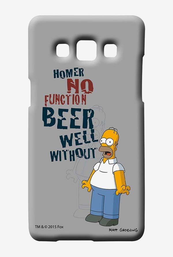 Simpsons Homers Poison Case for Samsung Galaxy A7
