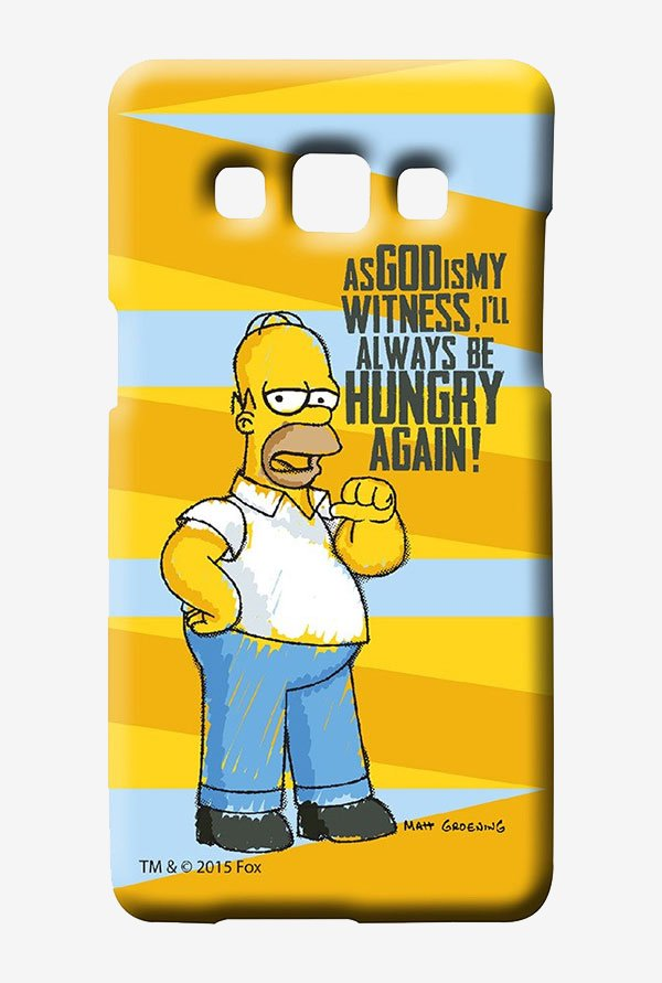 Simpsons Hungry Homer Case for Samsung Galaxy A7