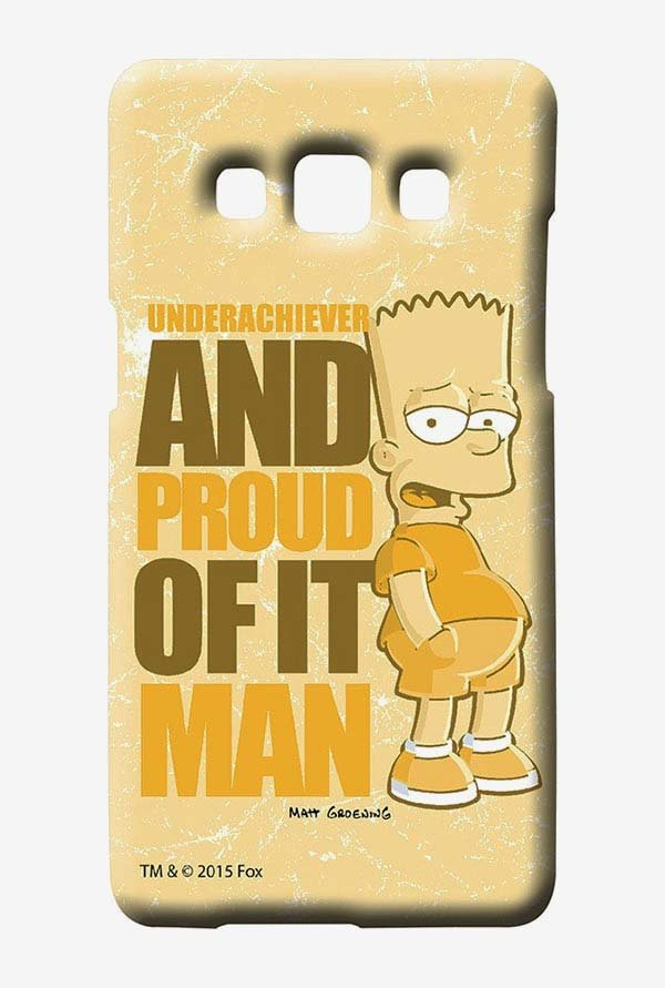 Simpsons Proud Underachiever Case for Samsung Galaxy A7