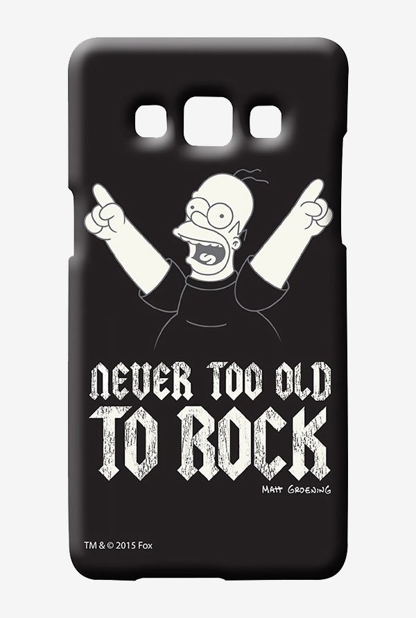 Simpsons Rockstar Homer Case for Samsung Galaxy A7