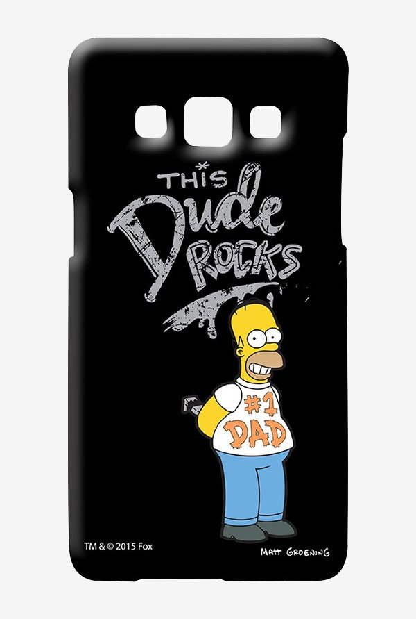 Simpsons This Dude Rocks Case for Samsung Galaxy A7