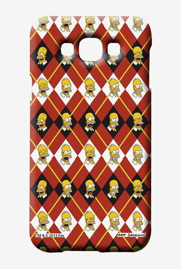 Simpsons Homer Moods Case for Samsung Galaxy E7