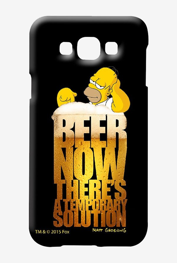 Simpsons The Beer Solution Case for Samsung Galaxy E7