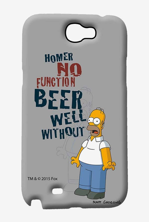 Simpsons Homers Poison Case for Samsung Note 2