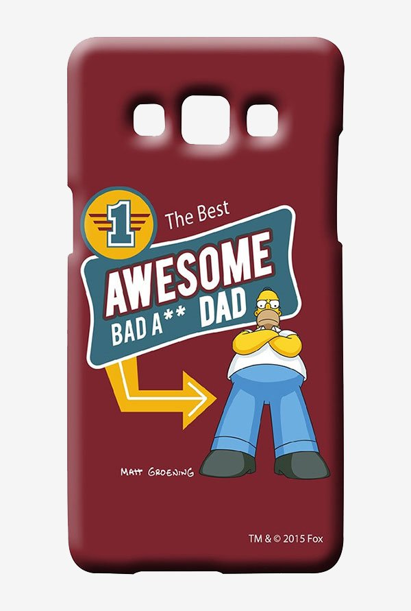 Simpsons Awesome Dad Case for Samsung Galaxy A5