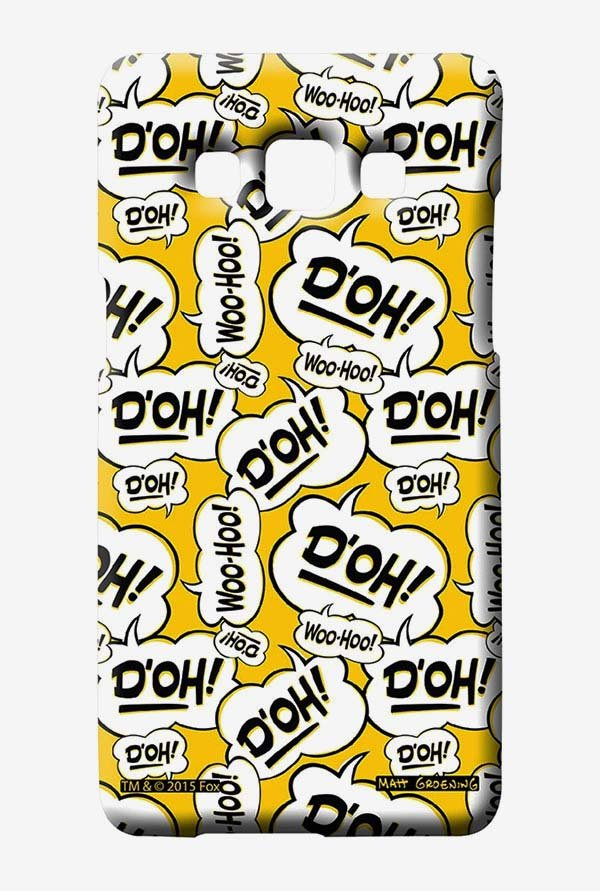 Simpsons Random Expressions Case for Samsung Galaxy A5