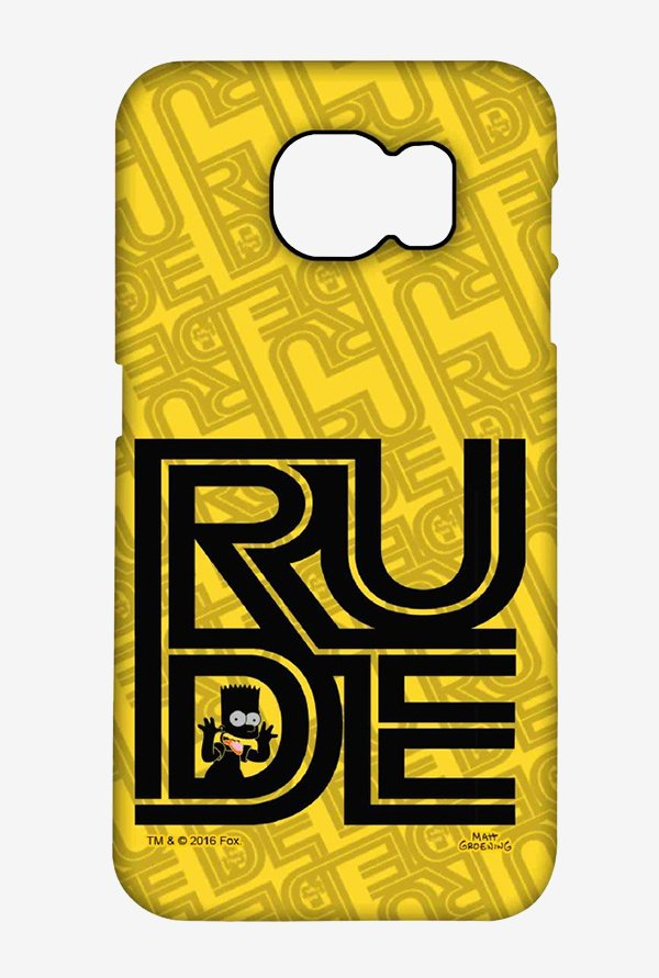 Simpsons Rude Case for Samsung Note 5