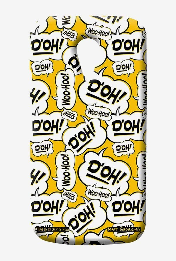 Simpsons Random Expressions Case for Moto G2