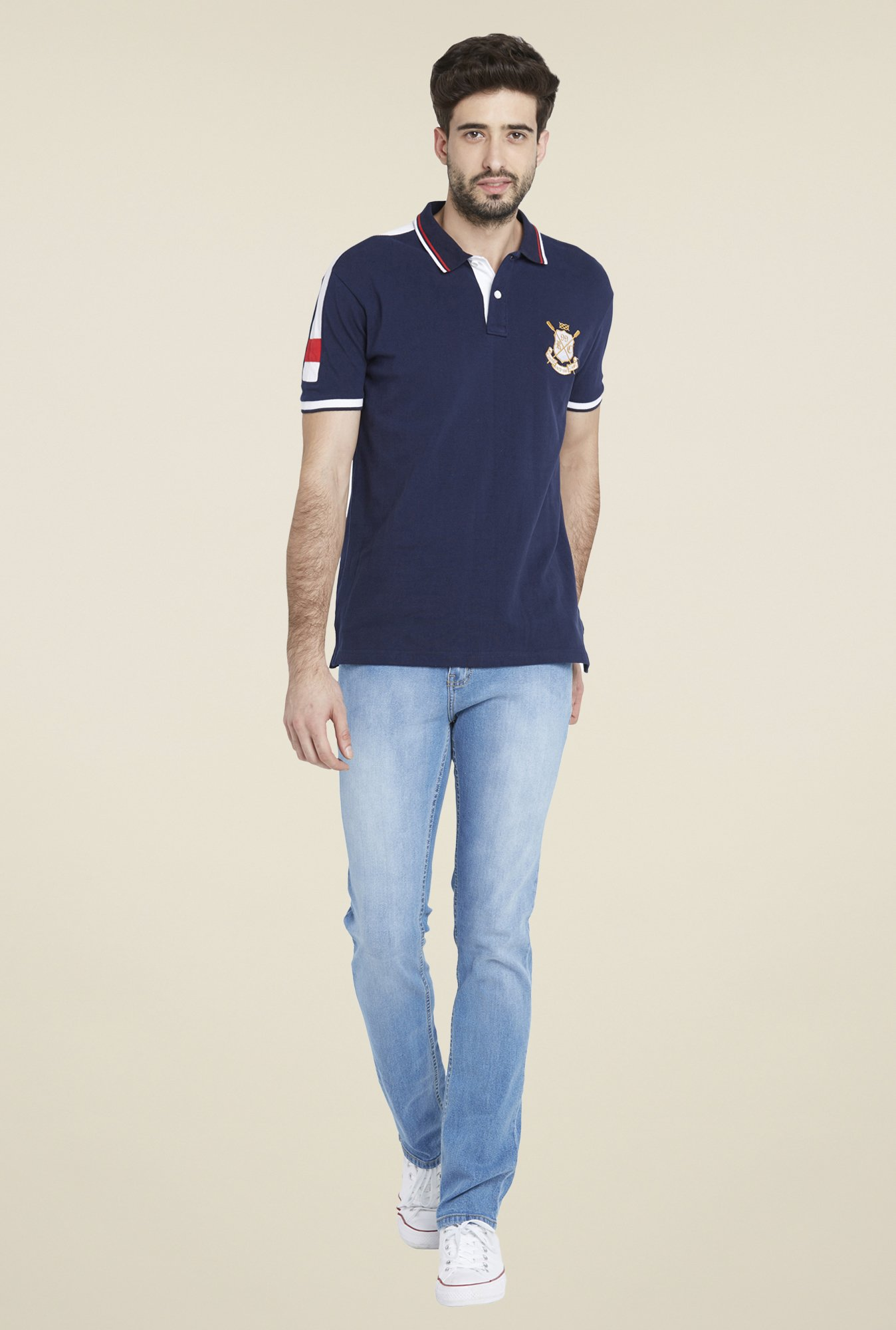 Globus Navy Short Sleeve T Shirt
