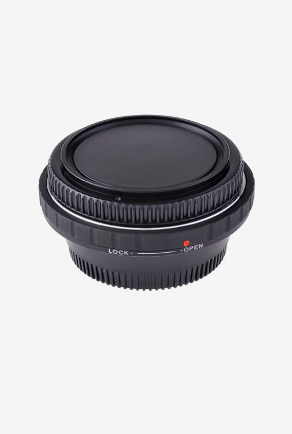 Neewer 10075453 Lens Mount Adapter with Optical Glass