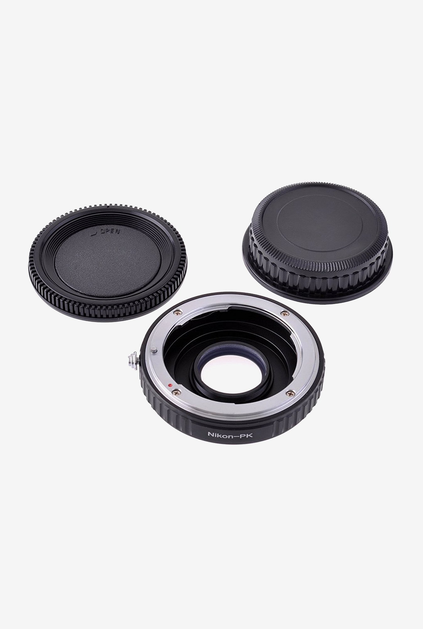 Neewer 10075457 Lens Mount Adapter with Optical Glass