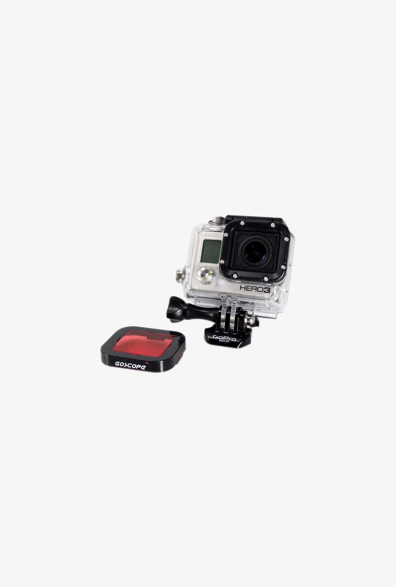 GoScope GS006 Optical Acrylic Red Filter for Gopro (Red)