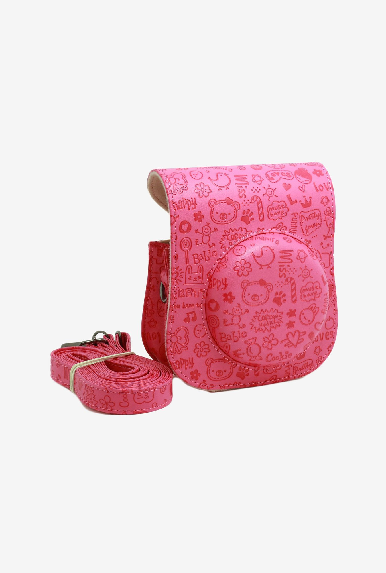 Elegant international Fuji Instax Mini 25 Camera Case (Pink)