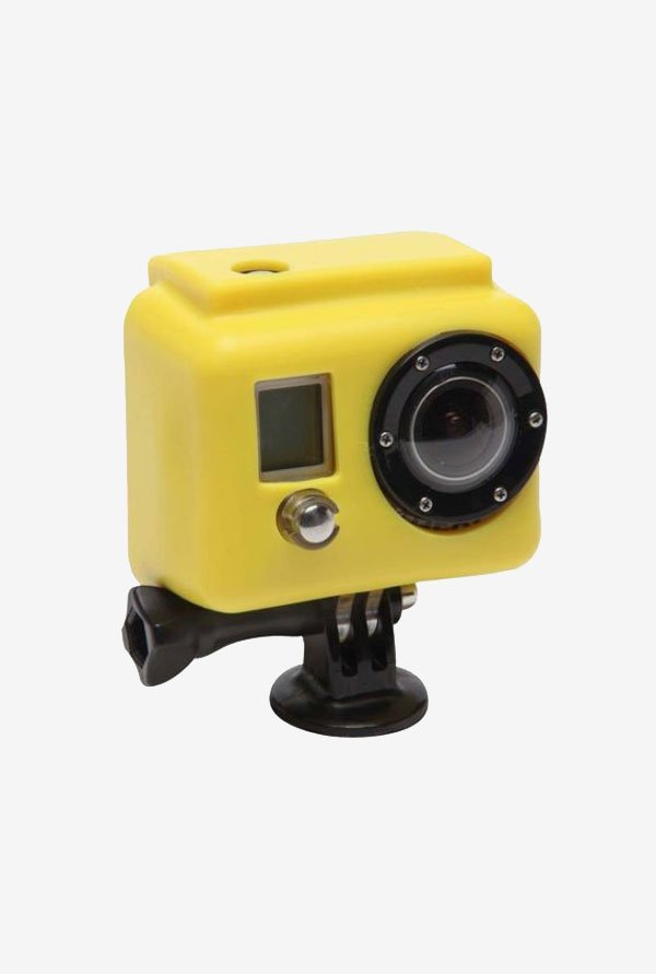 Series Hooded Silicone Cover for Gopro 3 (Yellow)