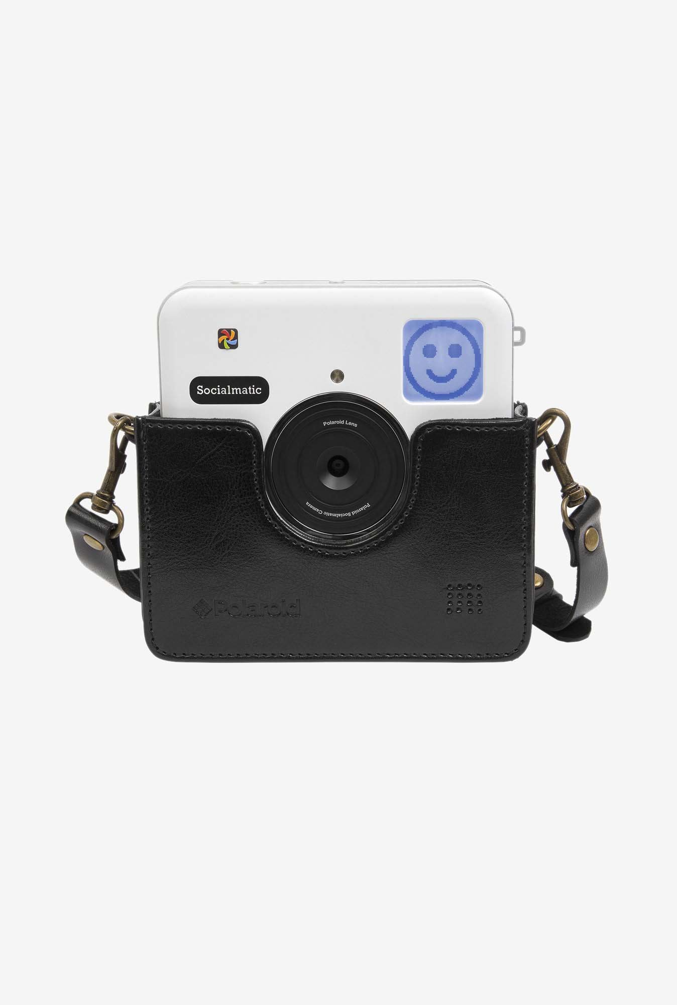 Polaroid POLSMNHBK Vintage-Inspired Genuine Cradle (Black)