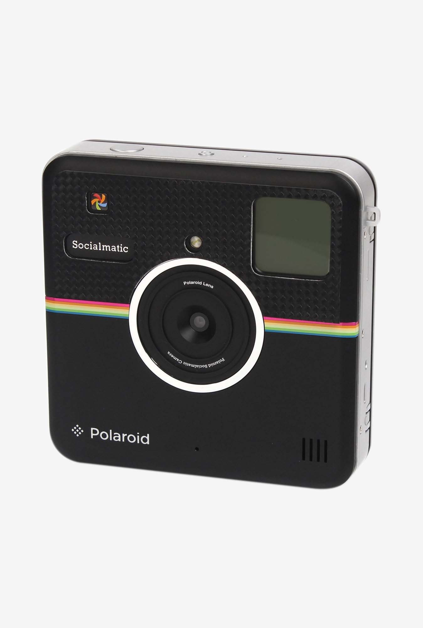 Polaroid POLSMSCLC Front Sticker (Glossy Carbon)