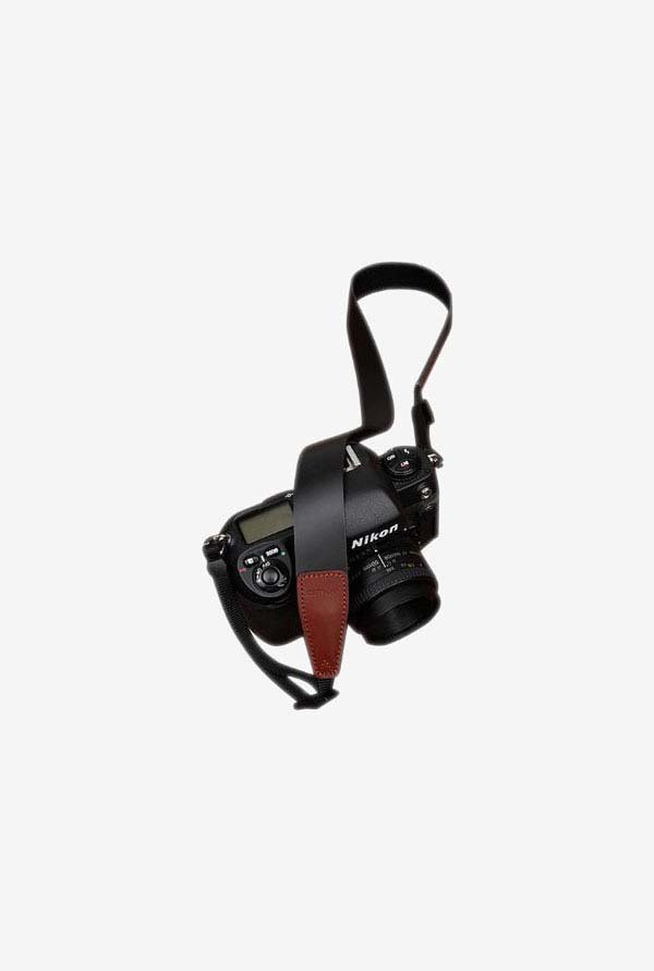 Luxury Wide cam2246Camera Shoulder Neck Strap (Pure Black)