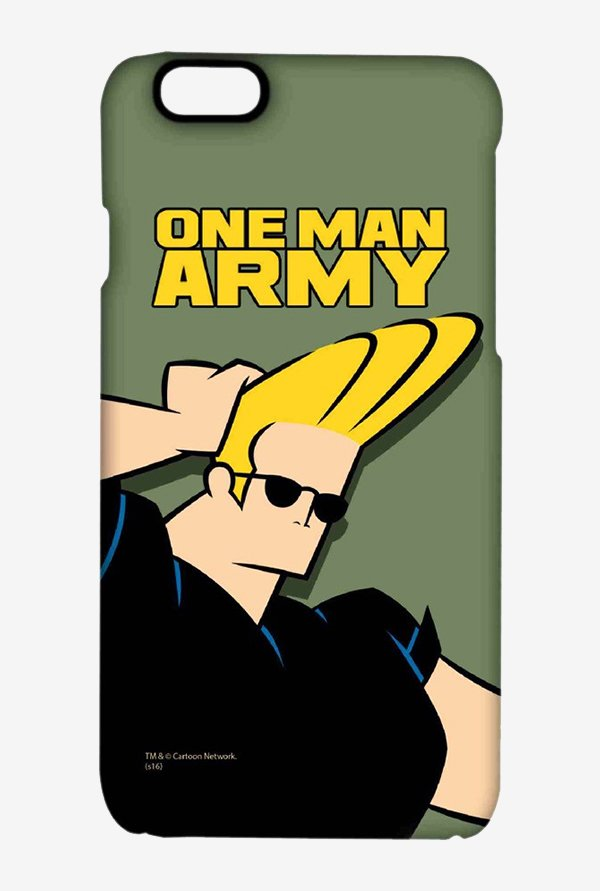 Johnny Bravo One Man Army Case for iPhone 6s