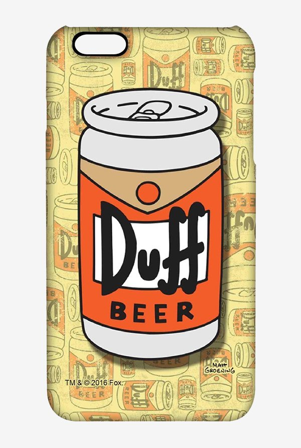 Simpsons Duff Beer Case for iPhone 6s Plus