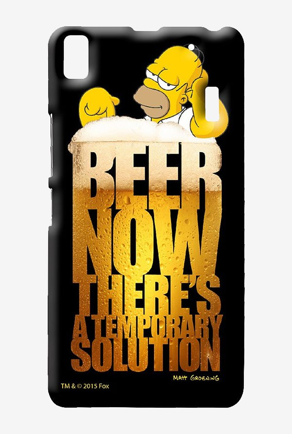 Simpsons The Beer Solution Case for Lenovo K3 Note
