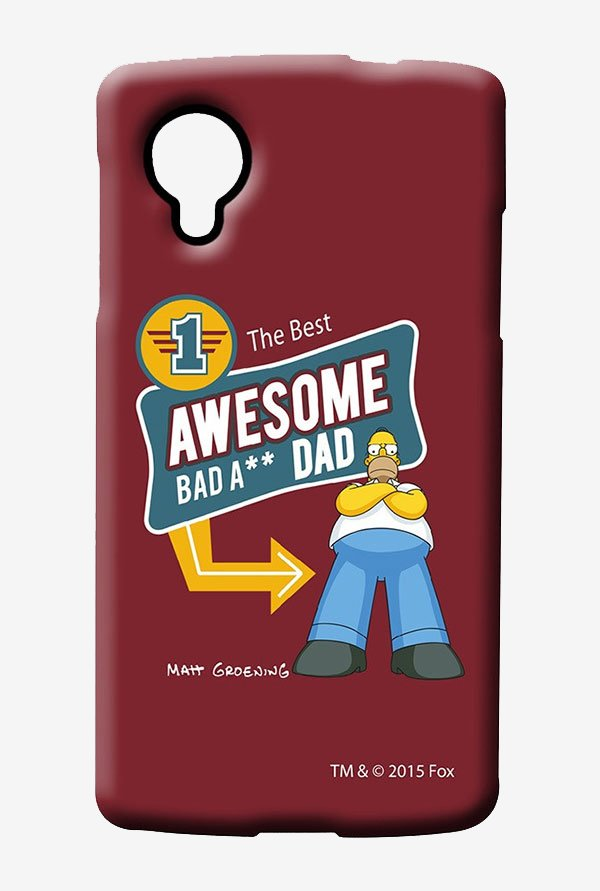 Simpsons Awesome Dad Case for LG Nexus 5