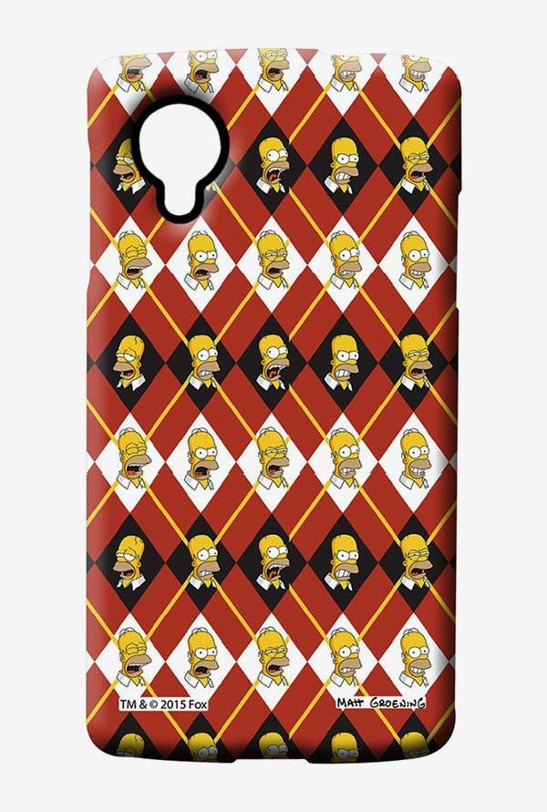 Simpsons Homer Moods Case for LG Nexus 5