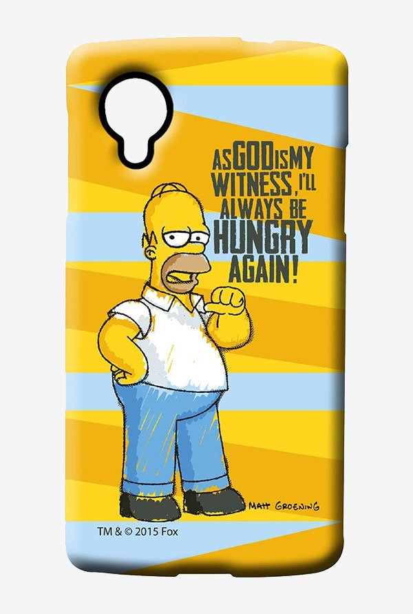Simpsons Hungry Homer Case for LG Nexus 5