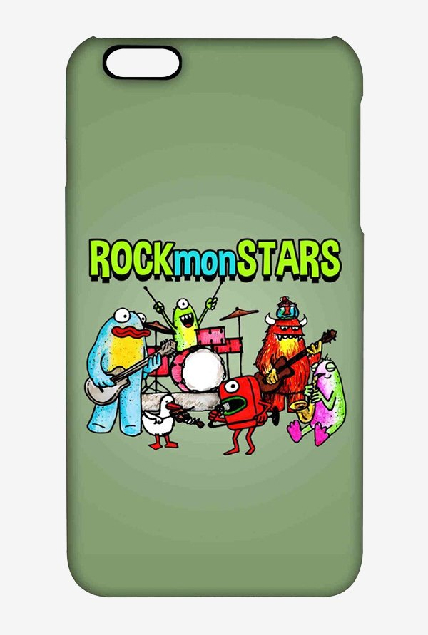 Kritzels Rockmonstars Case for iPhone 6s Plus