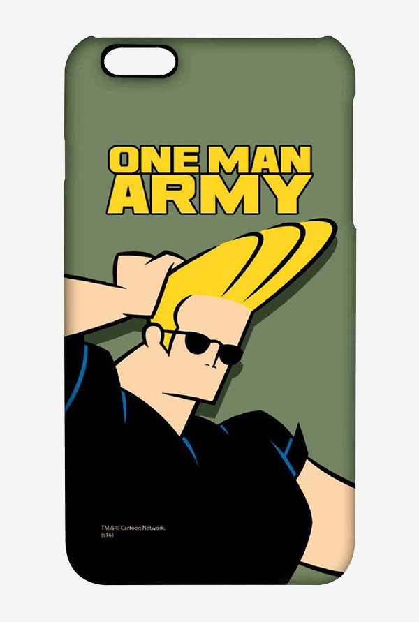 Johnny Bravo One Man Army Case for iPhone 6s Plus