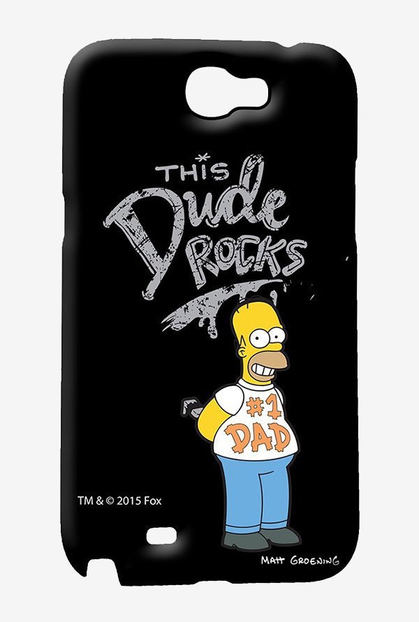 Simpsons This Dude Rocks Case for Samsung Note 2