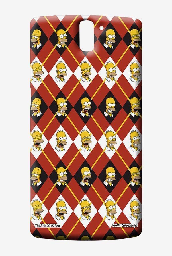 Simpsons Homer Moods Case for Oneplus One