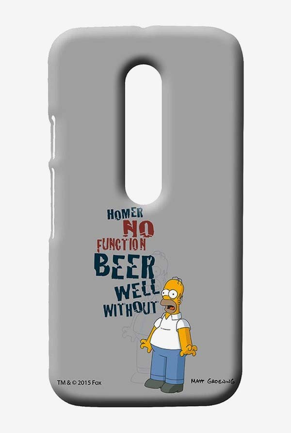 Simpsons Homers Poison Case for Moto G3