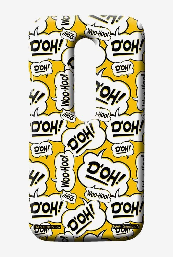 Simpsons Random Expressions Case for Moto G3