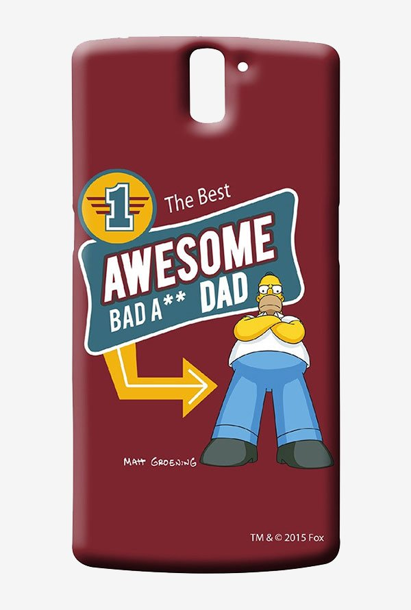 Simpsons Awesome Dad Case for Oneplus One