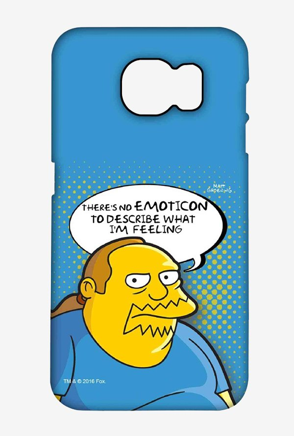 Simpsons Comic Guy Case for Samsung S6