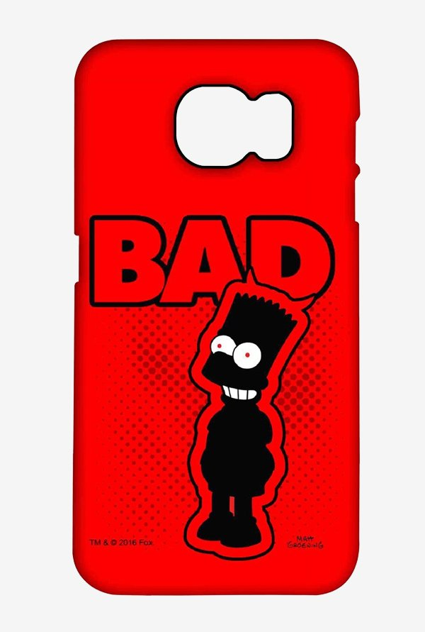Simpsons Bad Case for Samsung S6