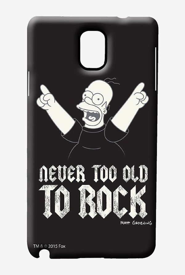 Simpsons Rockstar Homer Case for Samsung Note 3