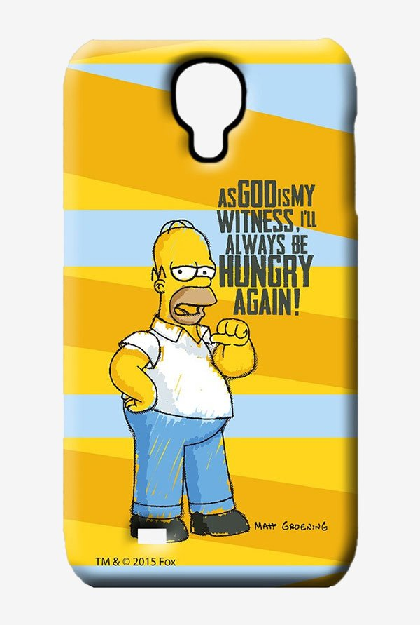 Simpsons Hungry Homer Case for Samsung S4