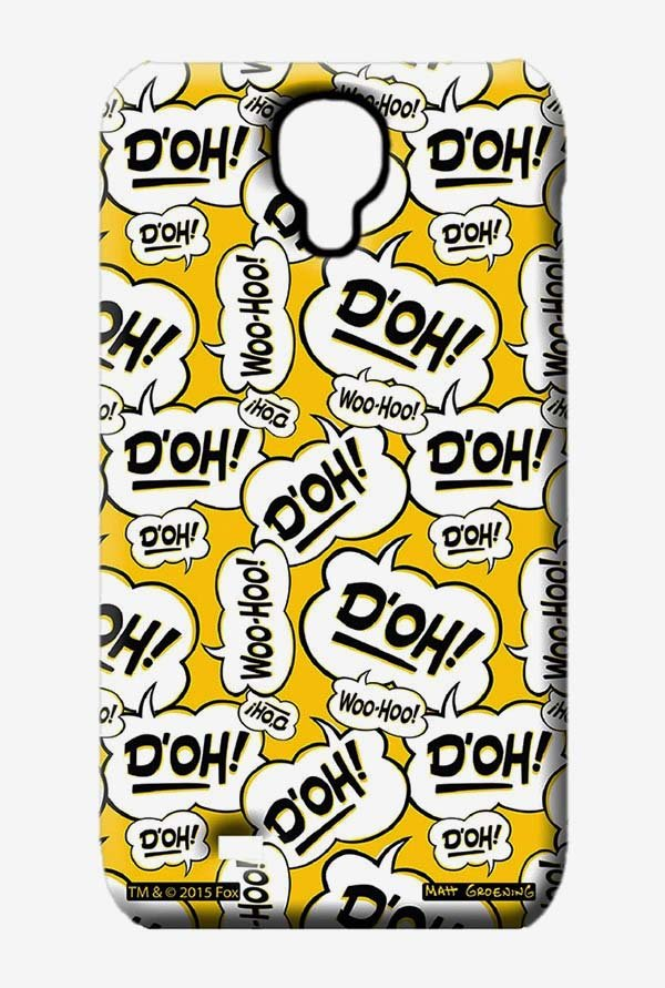 Simpsons Random Expressions Case for Samsung S4
