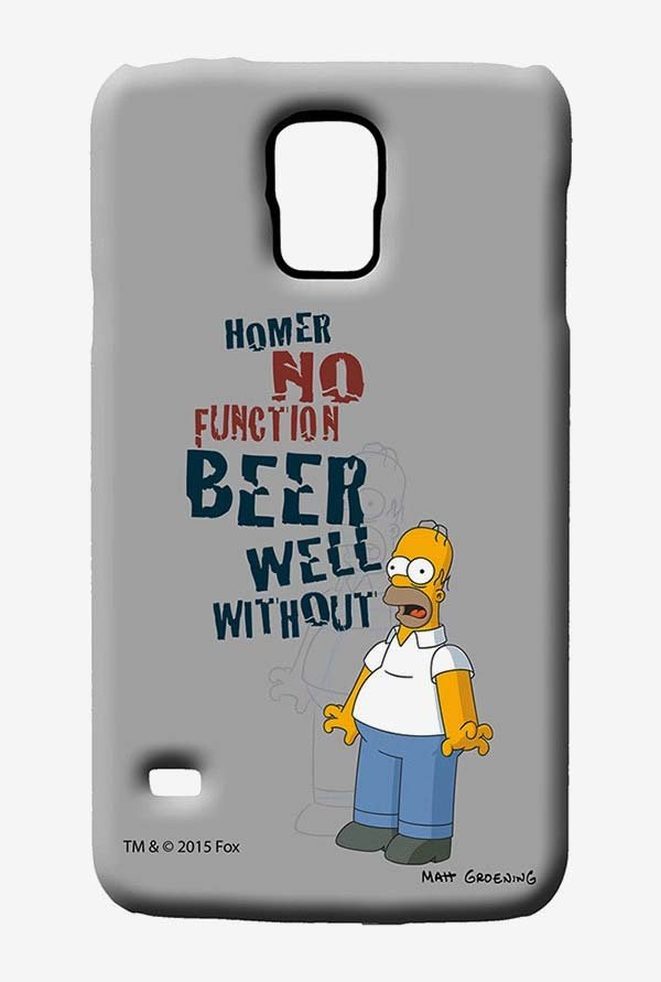 Simpsons Homers Poison Case for Samsung S5