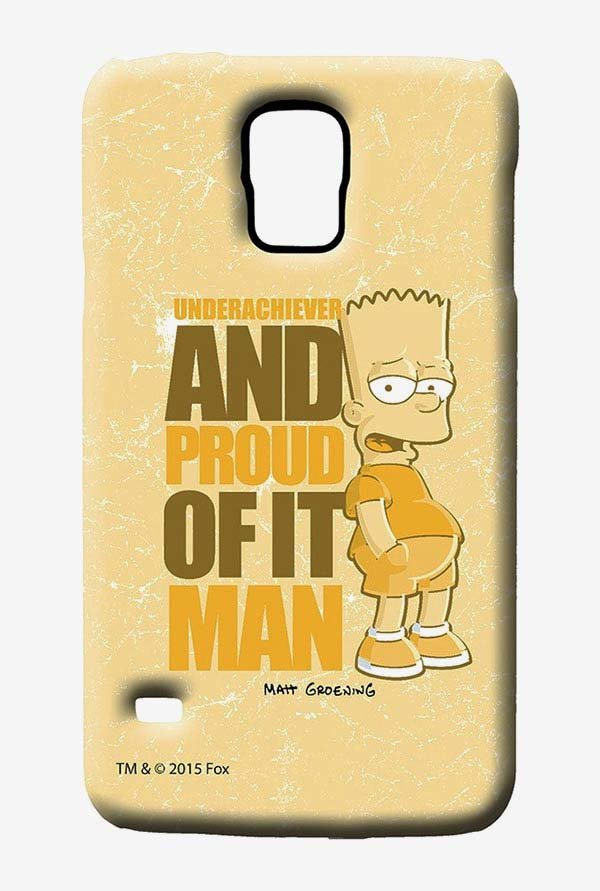 Simpsons Proud Underachiever Case for Samsung S5
