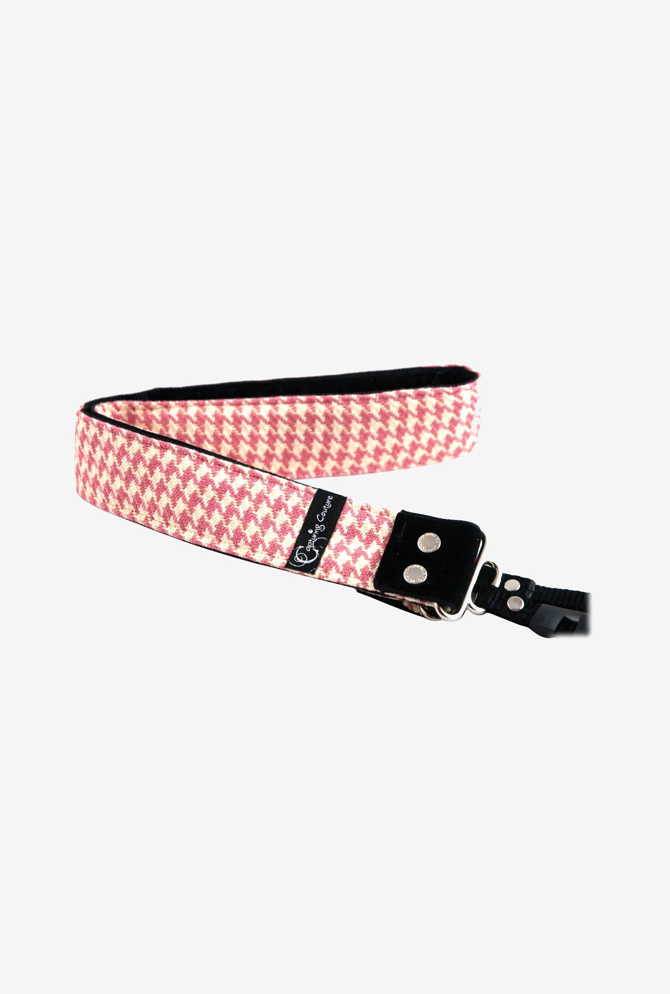 Capturing Couture SLR15-CHPK Charlotte Camera Strap (Pink)