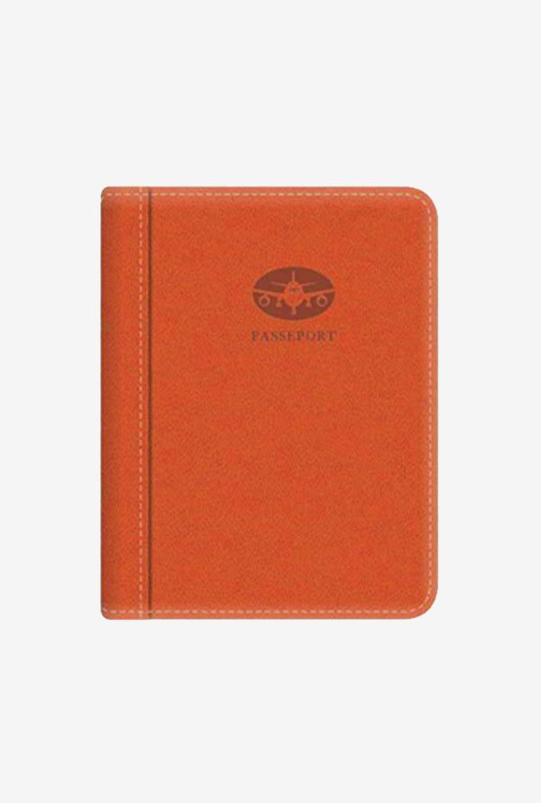 Pierre Belvedere Executive Passport Holder (Orange)