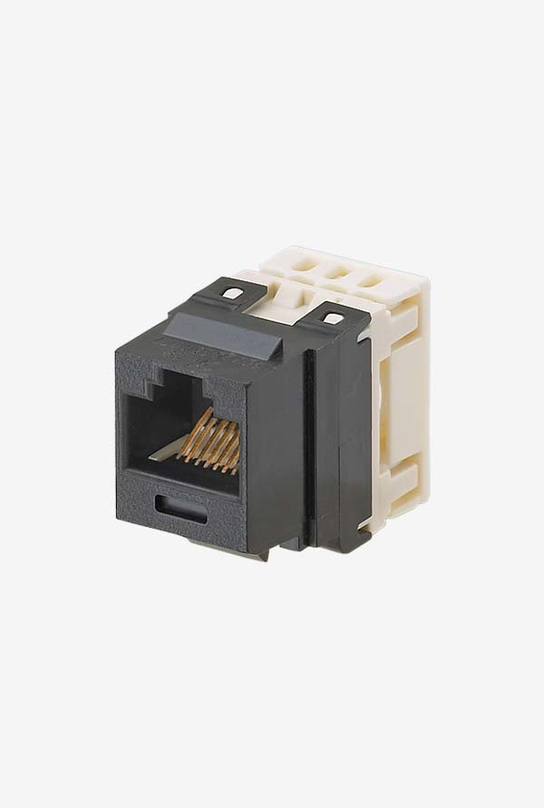 Panduit NK688MBL Category-6 8-Wire Jack Module (Black)
