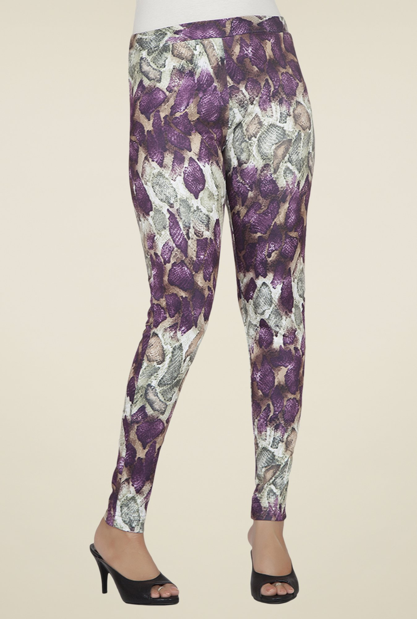 Desi Belle Multicolor Printed Jeggings