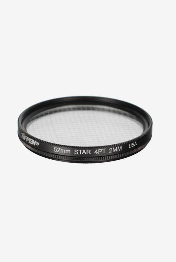 Tiffen 52mm 4 Point Star Filter (Black)